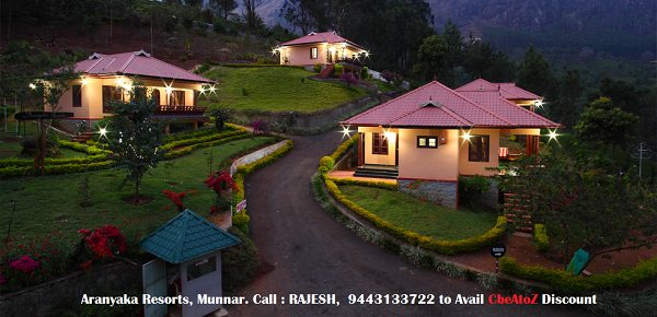 Aranyaka Resorts,Munnar, Coimbatore Yellow Pages
